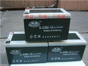 海富胶体大容量电池