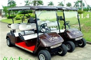 深圳绿能达4人电动高尔夫球车