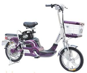 金鸽浪漫天使简易电动自行车