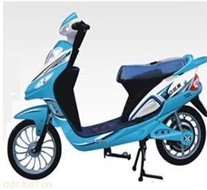 八匹马小鹰号蓝色电动摩托车