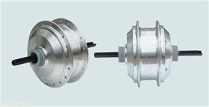 锂电池电动车用无刷有齿后驱普通型小高速辐条电机