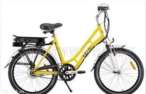 广东骏骥24寸骄阳铝合金轻便电动自行车