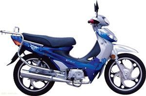 广东麦科特MCT110-11蓝色时尚型摩托车