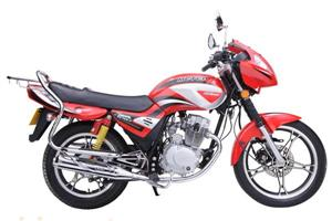 麦科特MCT125-6红色时尚摩托车