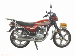 麦科特MCT150-5红色款经济实用型摩托车