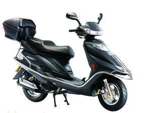 广东麦科特黑色高雅型摩托车