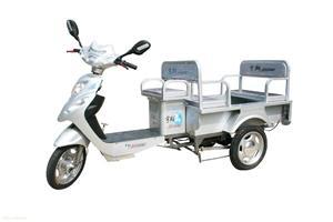 宇翔绿佳1米双排电动三轮车