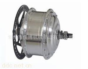 16寸36V锂电池电动车高速钢齿电机
