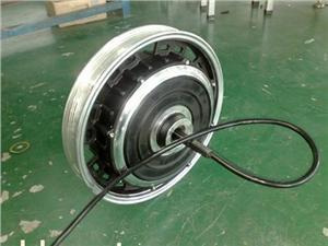 博尊16寸碟式电动车电机
