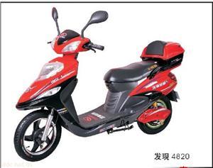 济南轻骑红色款发现电动自行车