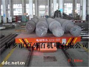 工厂车间或仓库的KPX-50T卷材运输搬运轨道平车