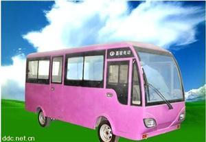 郑州嘉骏14座粉色电动客车