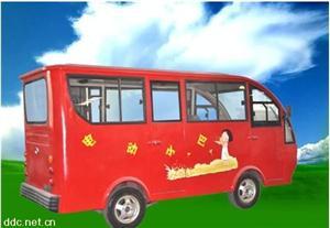河南嘉骏红色8座豪华电动小客车