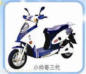 银豹60V小帅哥三代电动摩托车