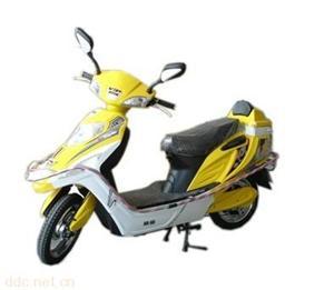 48V黄色款东模阳光电动摩托车