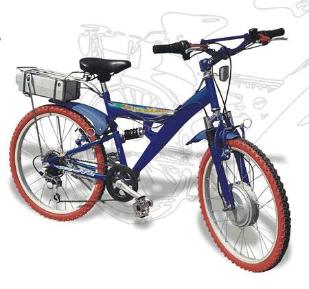 电动折叠自行车