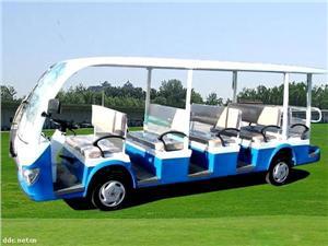 阿帕奇GD08A白色8座电动观光车