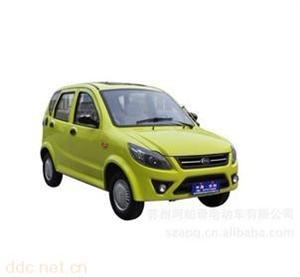 阿帕奇柠檬黄轻型电动汽车