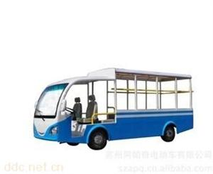阿帕奇蓝白色景区社区游览电动观光车