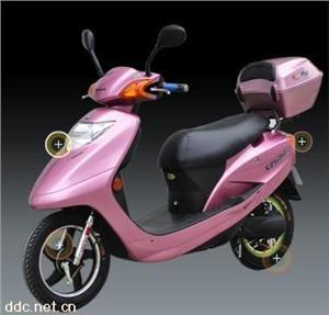 帝达粉色豪华亮剑电动摩托车