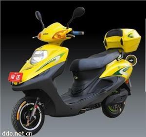 台州帝达黄色茜茜公主电动摩托车