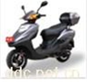 台州亨利帝达茜茜公主黑色电动摩托车