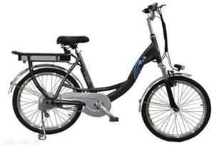 乐比光动锂电池电动自行车