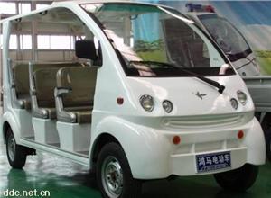 郑州6座圆尾电动观光车