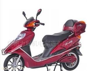 力程12寸红色款电动摩托车