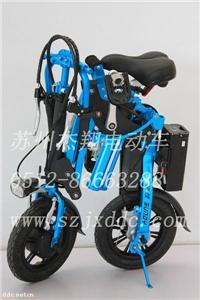 速蝶玫红时尚款TDW02ZⅢ电动自行车
