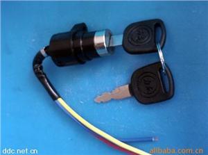 瑞安力龙电动车电源锁