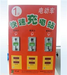 杭州领翔挂式3路电动车充电站