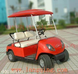 供应朗晴牌红色电动高尔夫球车
