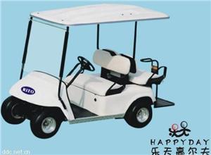 广州乐天时尚4人座电动高尔夫球车