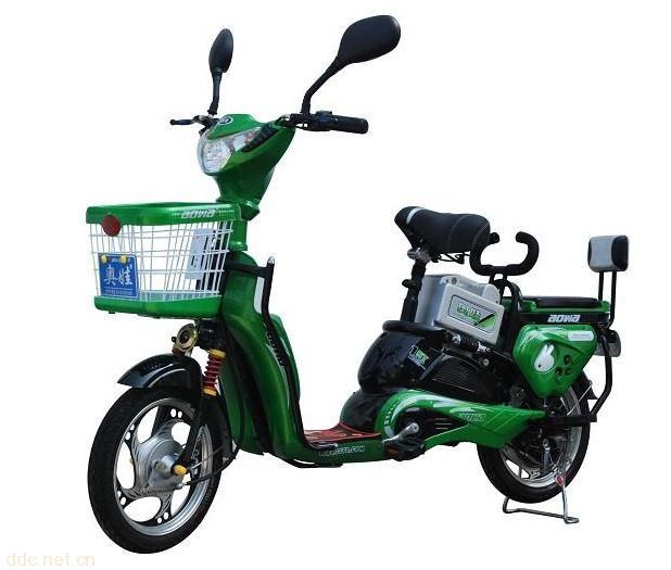 富士高48v玉兔简易款电动自行车