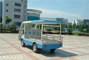 凯龙盛世2座蓝色电动货车