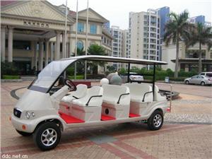 深圳凯瑞达11座电动游览观光车