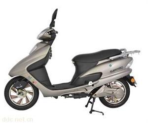 东莞日阳豪华银色款世纪公主电动摩托车