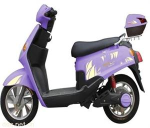 日阳350W48V卡帝亚电动摩托车