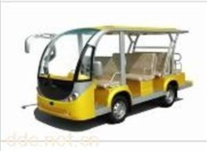 11座EG6118KA黄色电动观光车