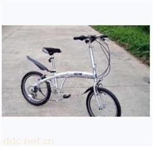 河北金拜克20寸折叠铝合金运动自行车