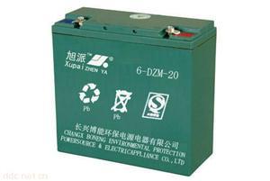 浙江长兴旭派6-DZM-20电动车蓄电池
