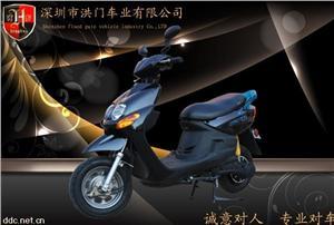 深圳卡卡60v黑色豪华电动摩托车