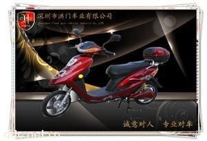 深圳洪门48v450w五羊电动摩托车