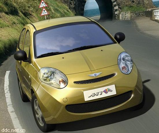 奇瑞电动汽车瑞麒M1-EV