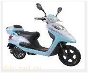 48V金力王蓝色时尚电动摩托车