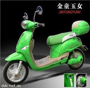 真爱金童玉女电动摩托车48V450W