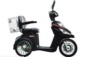 舒适型中老年人电动车(有倒档/坐椅带滑道)