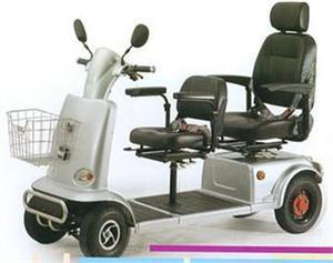 双人双座双排老年人电动代步车