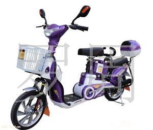 深威16寸450W紫色小金牛电动自行车